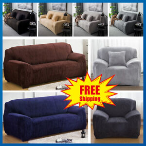 Easy-Fit-Stretch-elastico-in-tessuto-con-Divano-Slip-Cover-proteggi-1-2-3-4-posti