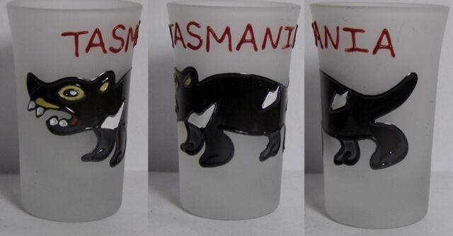 TASMANIA Critter Shot Glass #4232