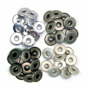 We R Memory Keepers wide cool metal Eyelets 40 Stück Ösen 0,5 cm 41596-1