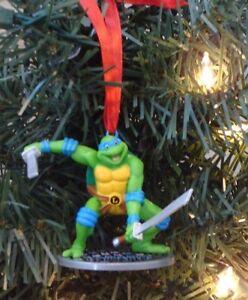 Ninja Turtle Christmas Tree.Details About Teenage Mutant Ninja Turtles Christmas Tree Ornament Leonardo Tmnt 90s Design