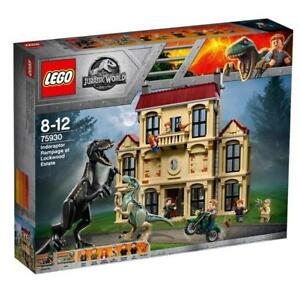 Amis Lego Jurassic World Building Set Indoraptor Rampage Dinosaure Jouets Cadeaux