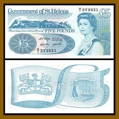 1998 P-11 Queen Elizabeth II Unc Saint Helena 5 Pounds St