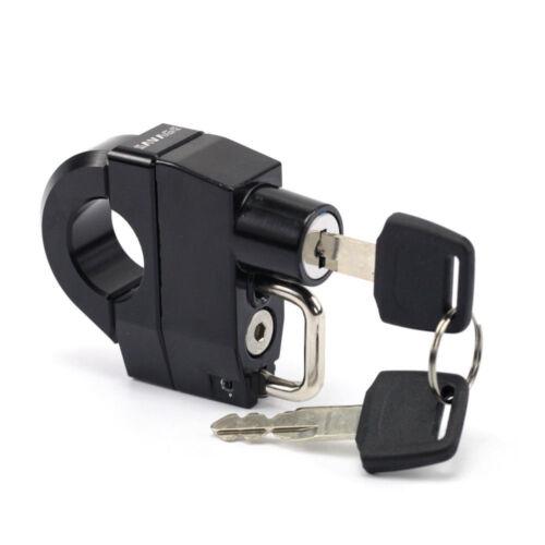 Helmet Lock Fit 25mm Handlebars For KAWASAKI Vulcan VN 800//900//1500//1600//1700