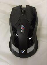 BMW M Motorsport Wireless Mouse OEM 80292410405 Carbon Fiber Look
