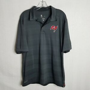 Nike-Mens-Dri-Fit-Tampa-Bay-Buccaneers-NFL-On-Field-Polo-Shirt-Size-Large-SD901