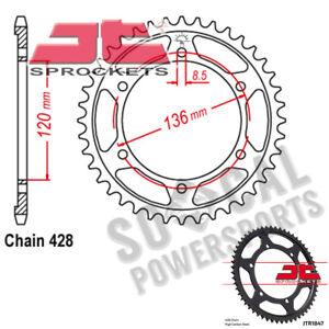 JT Sprockets Steel Rear Sprocket 45T 428 Pitch JTR838.45