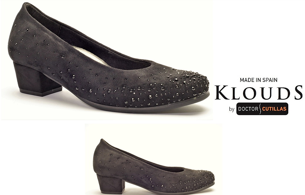 Klouds chaussures by Doctor Cutillas - Orthotic comfort leather heels Ginebra