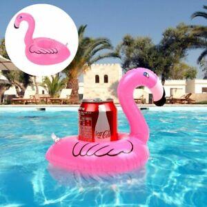 Flamingo Inflatable Drink Holder Drink Pool floats Cup Holder Floats Flamingo