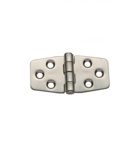 Acier inoxydable charnière charnière scharnierband 40x75 mm en acier inoxydable sans rouille NEUF 4379