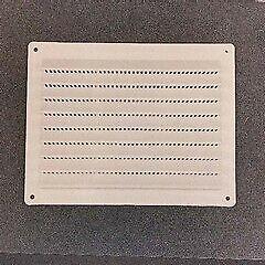 griglia di aerazione in abs cm 23x23 ad incasso muro parete antinsetti