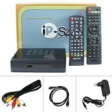 IP-S2 DVB S2 Satellite Receiver With 1200 USA Europe Arabic Channels For Free