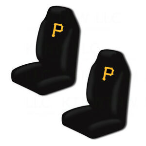 Brilliant Details About New Mlb Pittsburgh Pirates Car Truck 2 Front Seat Covers Set Official Licensed Dailytribune Chair Design For Home Dailytribuneorg