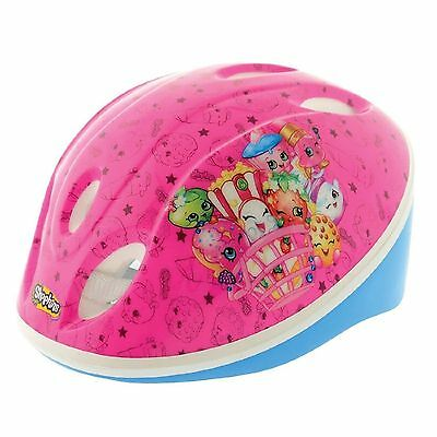 SHOPKINS CHILDRENS TV SAFETY CHILD HELMET BRAND NEW BOXED PINK BIKE HELMET