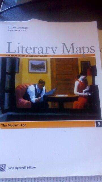 LITERARY MAPS 3 senza Cd  / 9788843407552