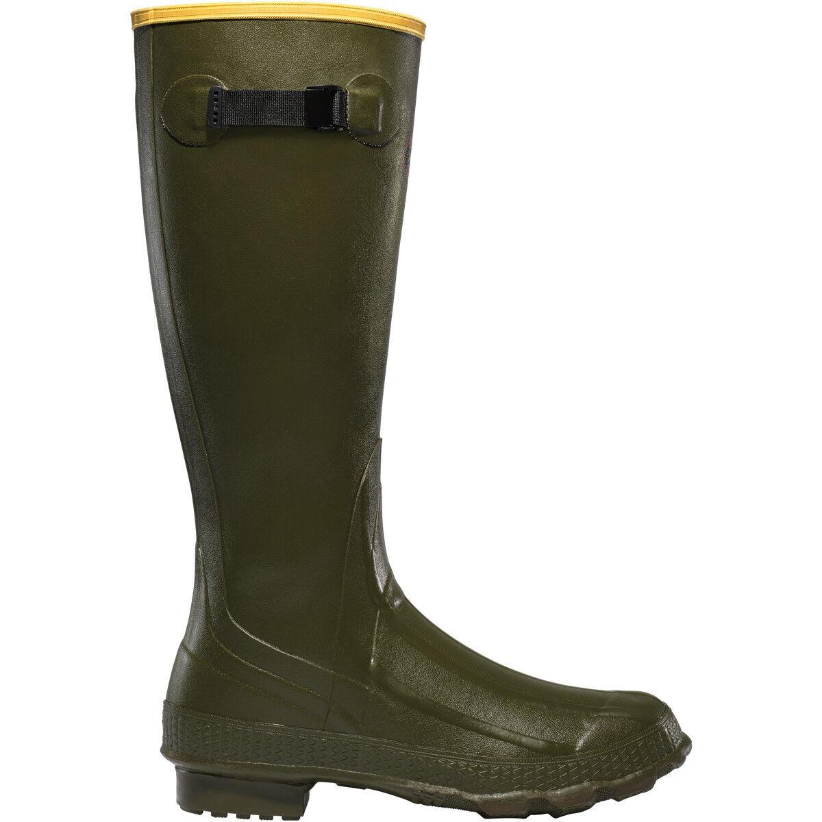 Lacrosse para hombres 150040 Grange 18  botas Impermeables Zapatos de caza verde OD