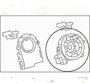 b5554 jl00a fits for nissan infiniti clock spring 2 wires b5554jl00a Ford Escape Radio Wiring Diagram b5554 jl00a fits for nissan infiniti clock spring 2 wires b5554jl00a ebay