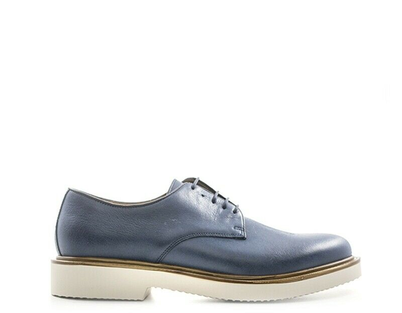 Antica cuoieria shoes man blue leather 20166 kira-bls