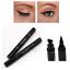 2-en-1-Pro-con-alas-Delineador-sello-Impermeable-Maquillaje-Lapiz-Delineador-de-Ojos-Liquido-Negro miniatura 11