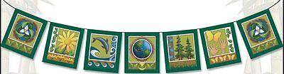 Dekorative Gebet Good Karma Flagge 'eco-logic Flagge' Zu Hohes Ansehen Zu Hause Und Im Ausland GenießEn
