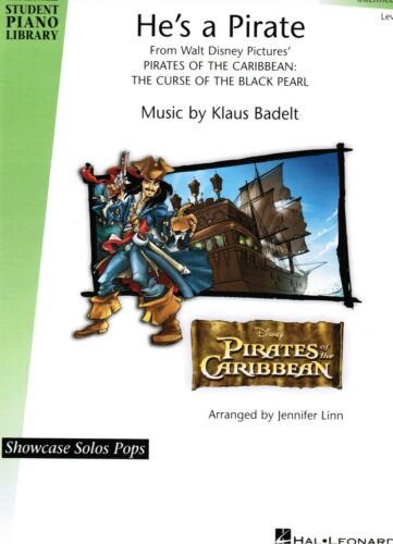 Filmmusik Klavier Noten : He/'s a Pirate leMittelst Fluch der Karibik