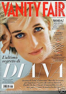vanity fair #38 lady diana adèle moda winter 2013/14 tartan&co italian magazines