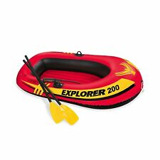Intex Explorer 200 2-Person Inflatable Boat Set with French Oar... Free Shipping