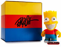 Bart Grin By Ron English - The Simpsons X Kidrobot 3 Inch Mini Figure Brand
