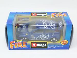 1-43-BURAGO-BBURAGO-STREET-FIRE-4174-FORD-FOCUS-RALLY-NIB-PM3-005
