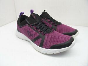 Vionic Brisk Alma Athletic Shoe Black and Pink