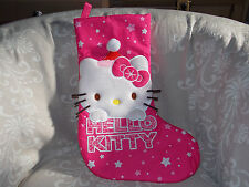 Hello Kitty Hanging Stocking Christmas Cat Star Kid Toy Collection Gift