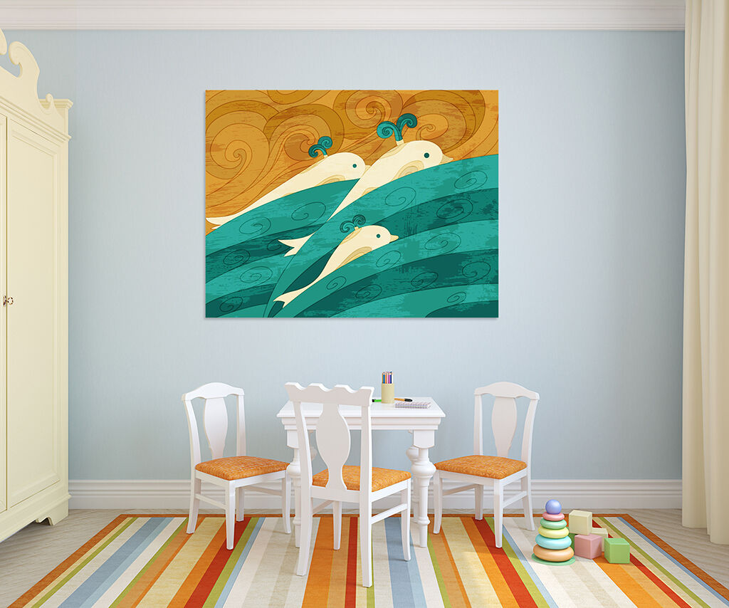 3D Super Netter Delphin Meer Meer Meer 74 Fototapeten Wandbild BildTapete AJSTORE DE Lemon | Reichhaltiges Design  ea0655