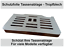 Schutzfolie-fuer-DeLonghi-PrimaDonna-Exklusiv-Tassenablage-ESAM-6900-amp-6850 Indexbild 2