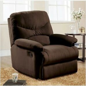 Image Is Loading Small RV Recliner Chair Wall Adjustable Overstuffed  Furniture