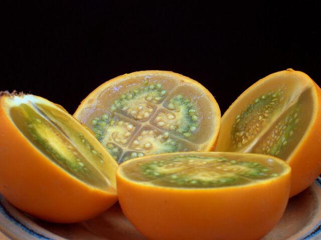 NARANJILLA LULO solanum quitoense rica fruta 100 semillas seeds