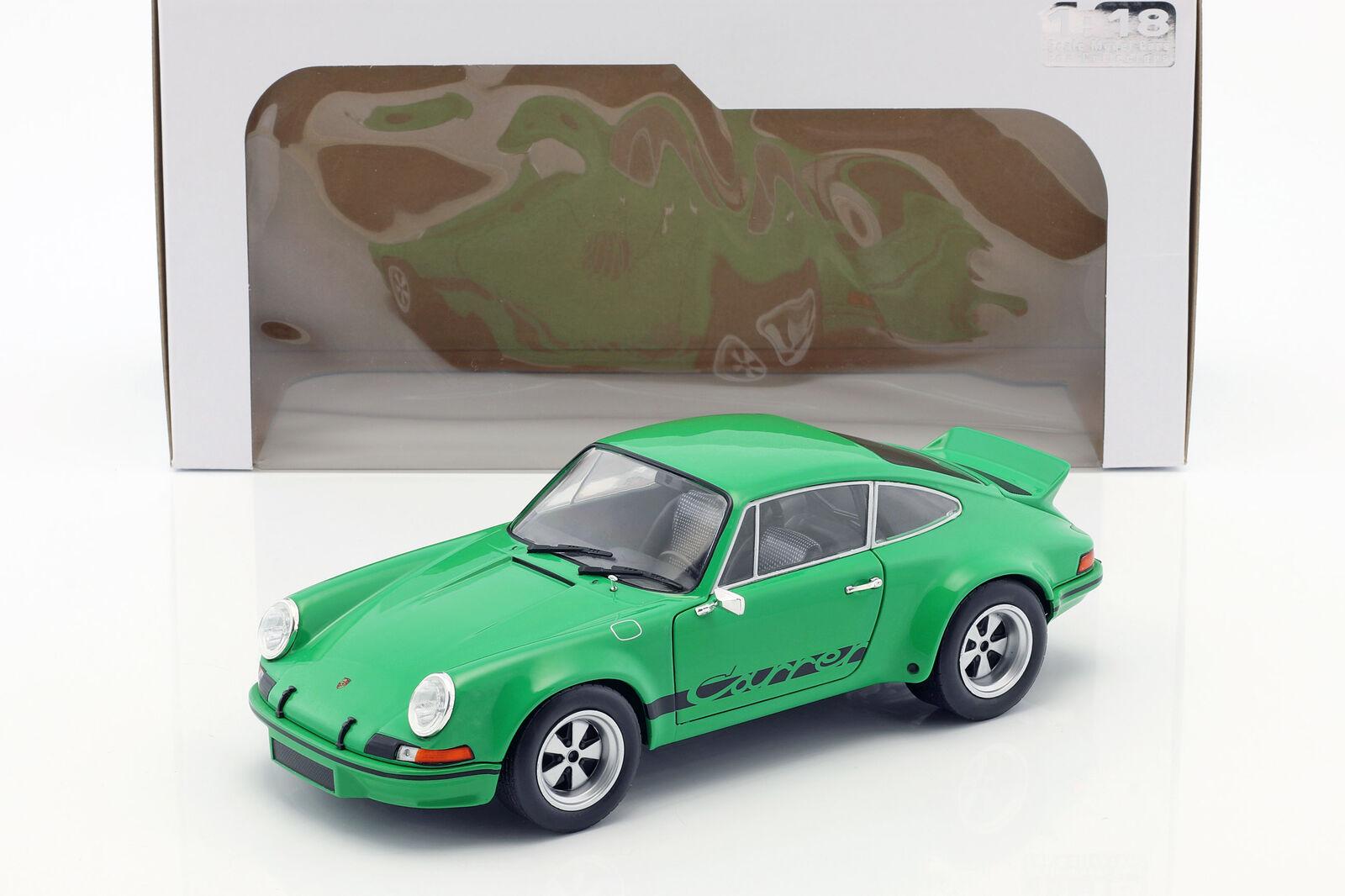 Porsche 911 Carrera RSR 2.8 Année Modèle 1973 vert 1 18 Solido