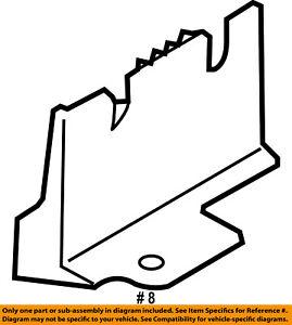 FORD-OEM-Pump-Hoses-Steering-Reservoir-Cap-Mount-Bracket-BT1Z3489A