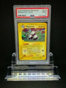 Pokemon-Magneton-H18-H32-Holo-Rare-Skyridge-PSA-9-Mint