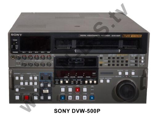 Winterspecial zum Knallerpreis Sony Betacam Digital DVW-500P