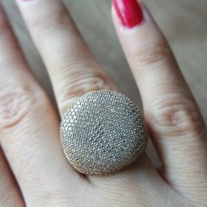 925-Sterling-Silver-Handmade-Authentic-Turkish-Zircon-Ladies-Ring-Size-7-9