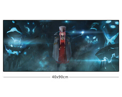 Anime Darling in the FranXX Zero Two Large Mouse Pad Gaming Mousepad Desk Mat