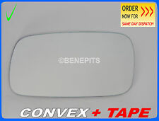 Wing Mirror CAR Glass Saab 9-3 1998-2002 CONVEX + TAPE Left Side #SA004