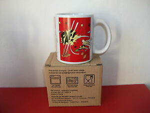 15.9.26.31 QUICK tasse Mug rouge Obélix Astérix NEUF