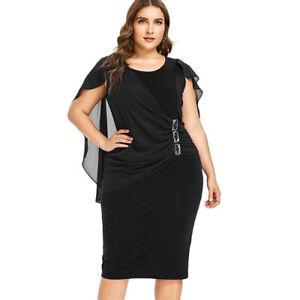 Vestidos De Fiesta De Noche Cortos Tallas Grandes Elegantes Xl 5xl 2020 Ebay