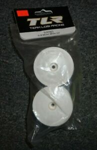Team-Losi-TLR-7003-Front-or-Rear-Wheels-2-White-22T-Truck