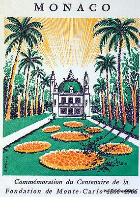 Monaco Briefmarken Billiger Preis Grundierung Monte Carlo 1966 Briefmarke Monaco Premier Tag Fdc Yt 693 Seien Sie Im Design Neu