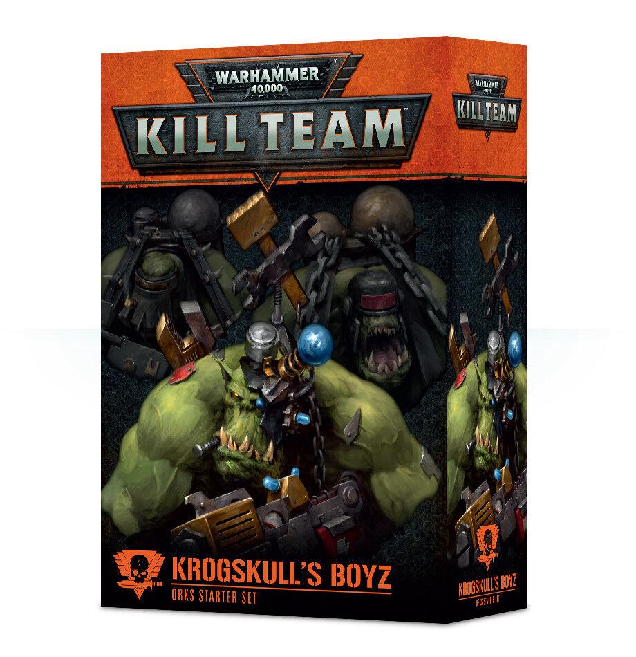 Matar a equipo krogskull's Boyz Orks Estrellater Set Warhammer 40k Nuevo