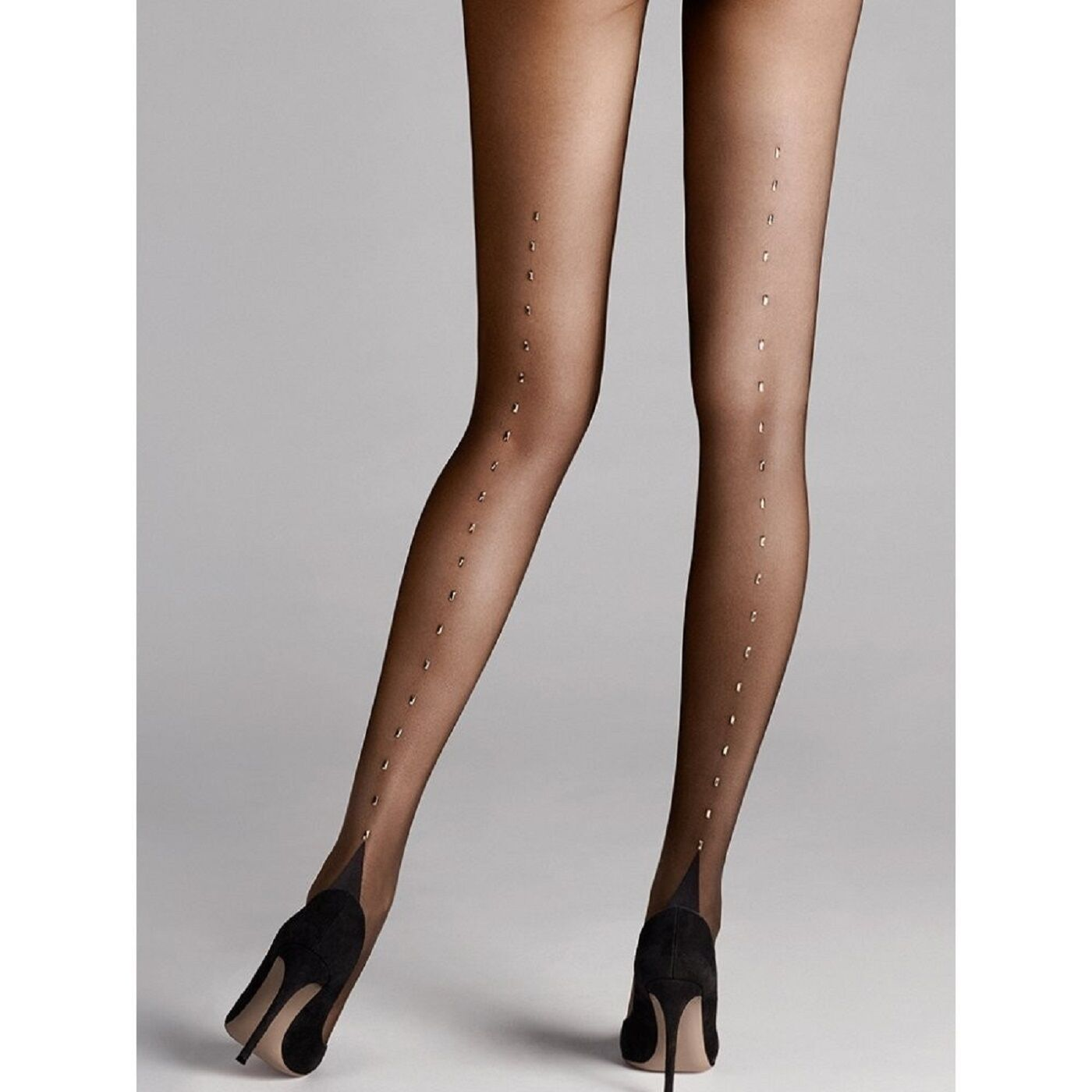 Wolford Paris Swarovski Crystal Tights