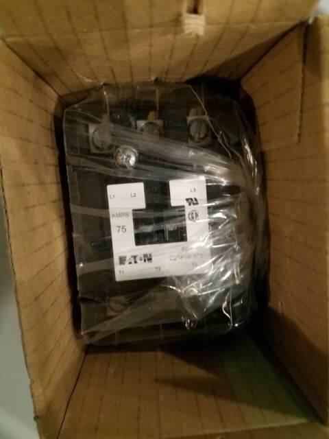 --------------/> BRAND NEW C25FNF375A  Cutler Hammer