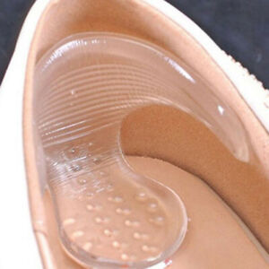 Sn-Silicone-Gel-Haut-Talon-Prise-Chaussure-Semelle-Coussinet-Pied-Soin-Protege