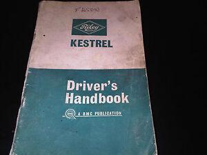 100% Vrai Riley Kestrel Propriétaires Drivers Handbook Manuel D'instructions + Mk Ii 2 & 1300 Supp-afficher Le Titre D'origine Fixation Des Prix En Fonction De La Qualité Des Produits